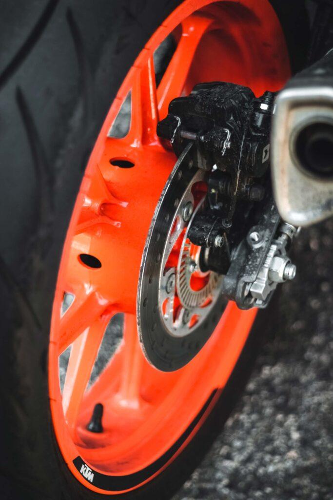 Bild nach einem Bremsen-Service