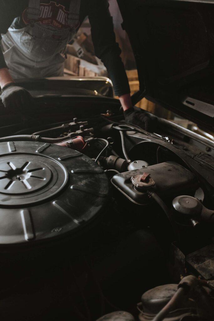 Bild von einem Ölwechsel-Service